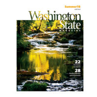 Washington State Magazine, Summer 2018 cover
