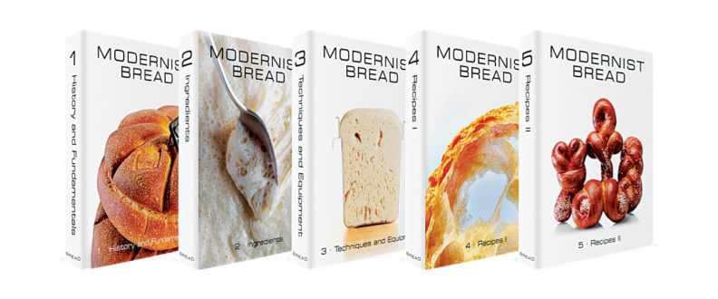 Modernist bread book covers