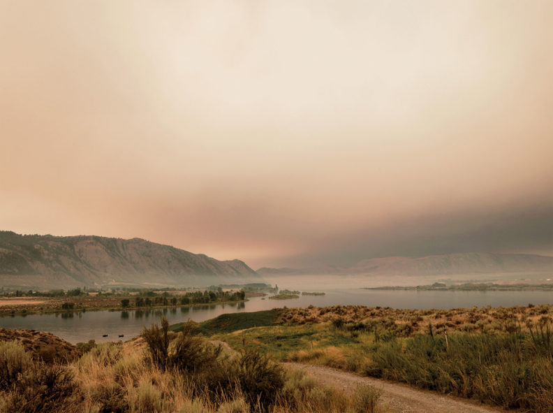 Near the Confluence of the Okanogan and Columbia Rivers