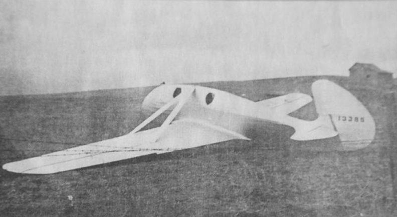 Artman glider in 1937