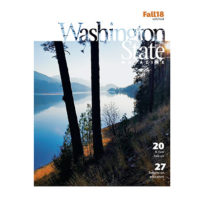 Cover of Fall 2018 Washington State Magazine