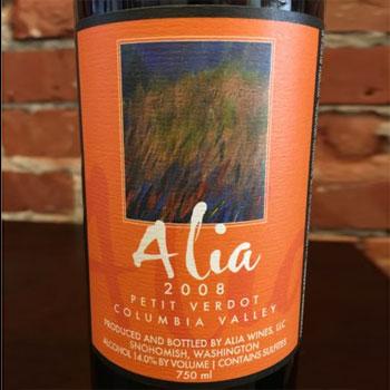 Alia Wines in Snohomish