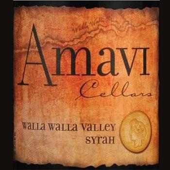 Amavi Cellars bottle