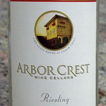 Arbor Crest Wine Cellars bottle