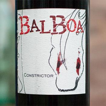 Balboa Cellars bottle