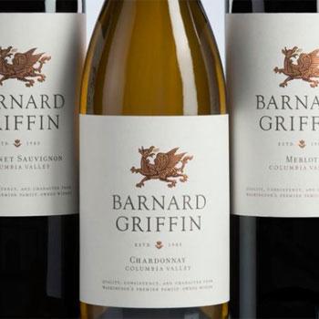 Barnyard Griffin Winery bottle