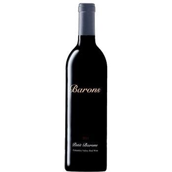 Barons Winery bottle
