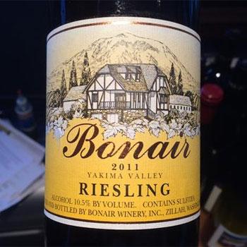 Bonair Winery bottle