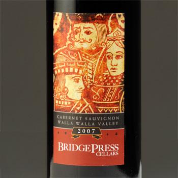 Bridge Press Cellars bottle