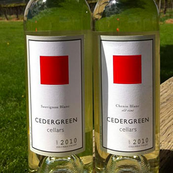 Cedergreen Cellars bottle