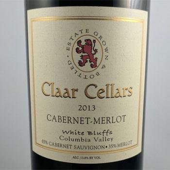 Claar Cellars bottle