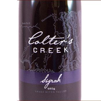 Colter's Creek bottle