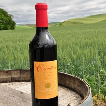 Couvillion Winery bottle