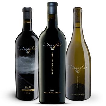 Doubleback Winery bottles
