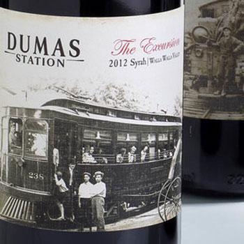 Dumas Station Winery bottle