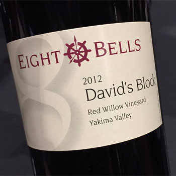 Eight Bells Winery bottle