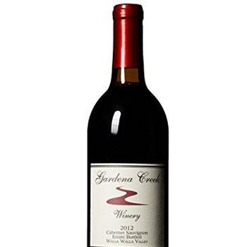 Gardena Creek Winery bottle