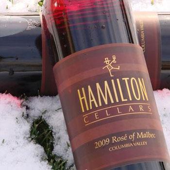 Hamilton Cellars bottle
