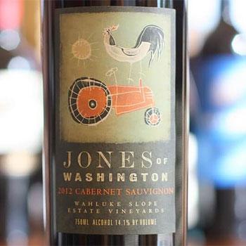 Jones of Washington bottle