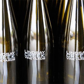 Lindsay Creek Vineyards bottles