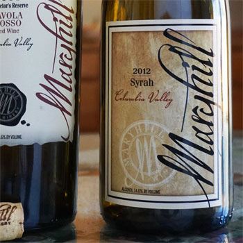 Maryhill Winery bottle
