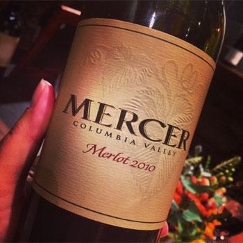 Mercer Estates Winery bottle
