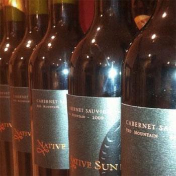 Native Suns Winery bottles