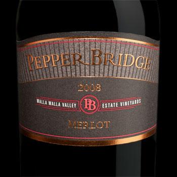 Pepper Bridge Winery bottle