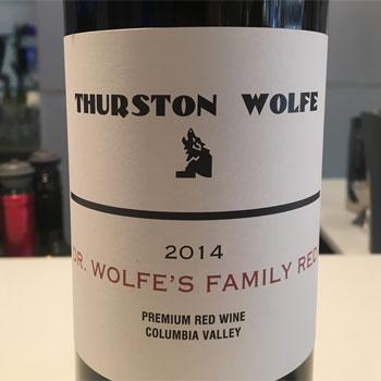 Thurston Wolfe Winery bottles