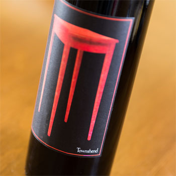 Townshend Cellar bottle
