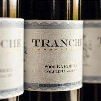 Tranche Cellars bottles