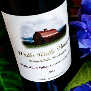 Walla Walla Vintners bottle