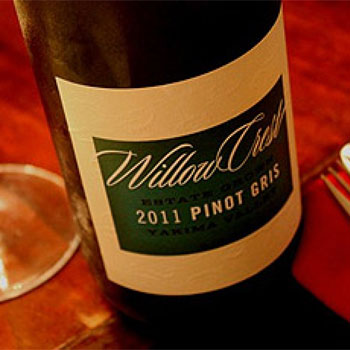 Willow Crest Winery bottle