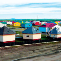 Houses on the Arctic