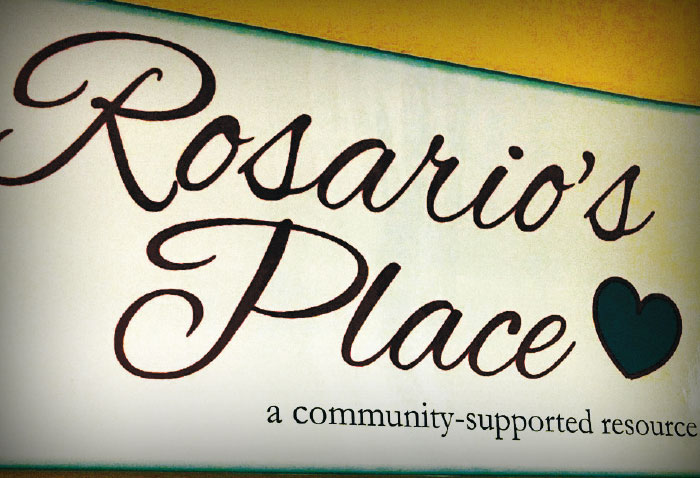 Rosario's Place sign