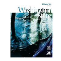 Cover of Washington State Magazine, Winter 2018