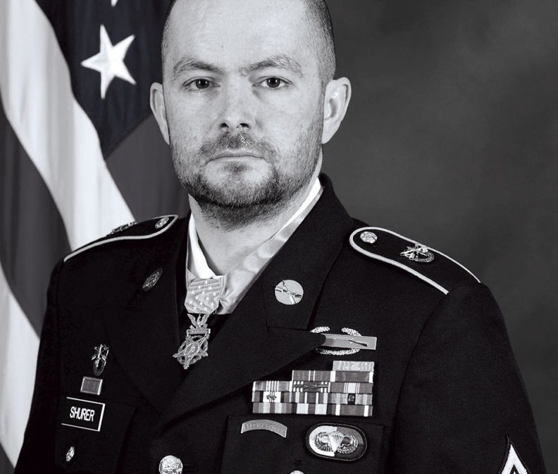 Ron Shurer in Army dress uniform