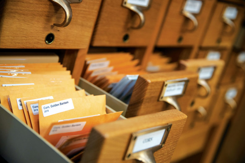 seed library at the Hillyard branch of Spokane Public Library
