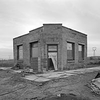 Abandoned building at Hanford