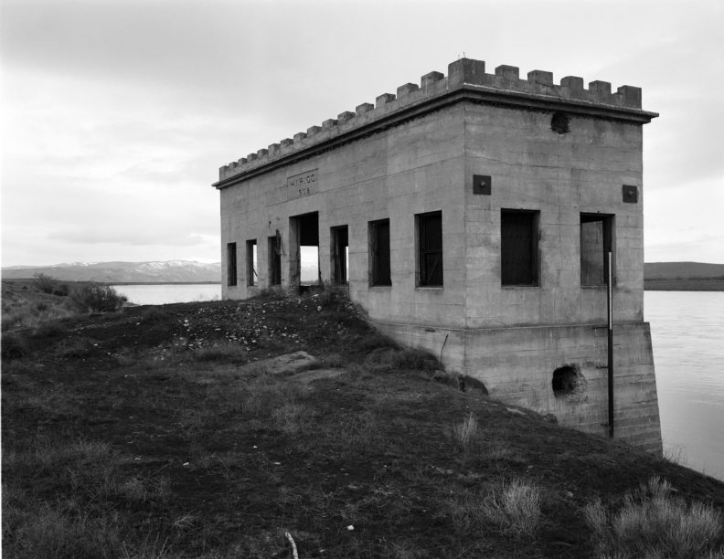 Allard Pump House on what is now the Hanford Reservation
