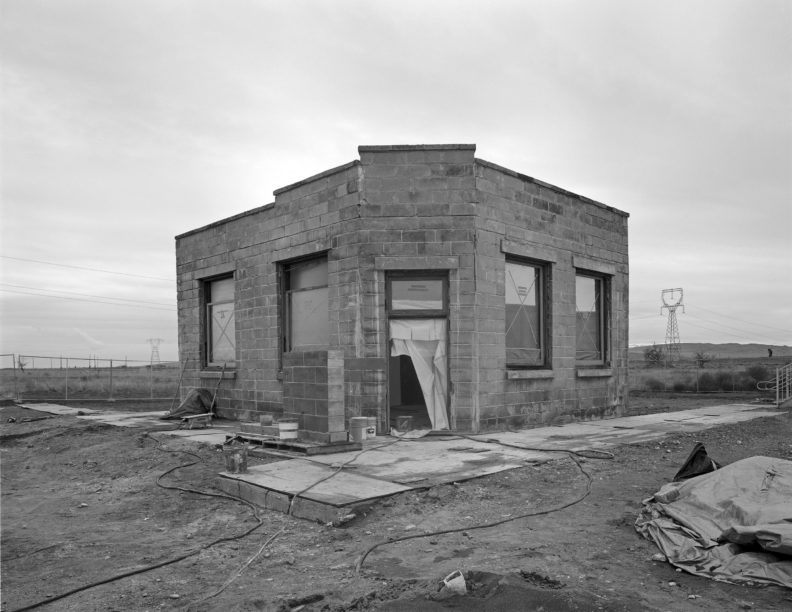 White Bluffs Bank abandoned on the Hanford Reservation