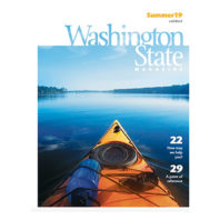 Cover of Summer 2019 issue of Washington State Magazine