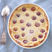 Rainier Cherry Clafoutis