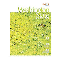 Cover of Fall 2019 issue of Washington State Magazine