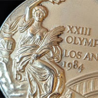 Gold medal from 1984 Olympics