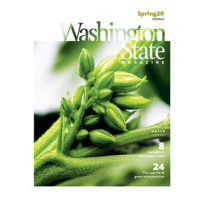 Cover of Spring 2020 issue of Washington State Magazine
