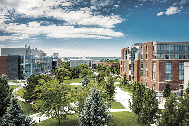 WSU Health Sciences Spokane campus