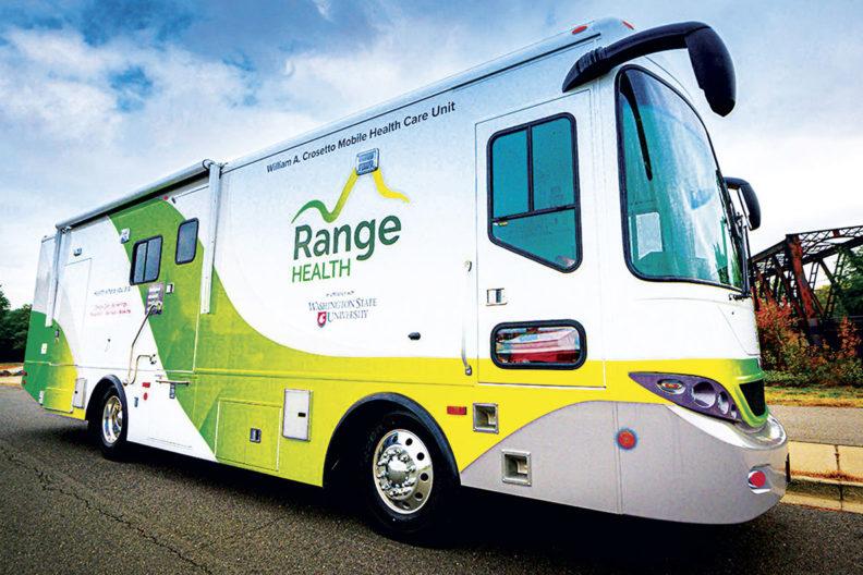 Range Health mobile care unit