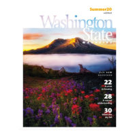 Cover of Washington State Magazine, Summer 2020