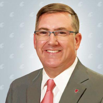 WSU President Kirk Schulz illustration